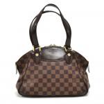 Louis Vuitton Verona PM Ebene Damier Canvas Handbag