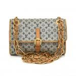 Louis Vuitton Camille Blue Mini Monogram Canvas Shoulder Bag