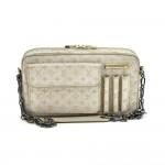 Louis Vuitton McKenna Silver Monogram Shine Canvas Shoulder Bag 2002 Limited Ed