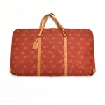 Vintage Louis Vuitton Kabul 2-Way Garment Cover Red Coated Canvas Travel Bag-1995 Ed