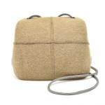 Chanel Millenium Beige  Felt Hard Case Shoulder Bag-2005 Premier Edition