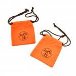 Hermes Orange Dust Bag For Small Items-Set of 2