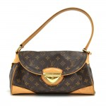 Louis Vuitton Beverly MM Monogram Canvas Shoulder Bag