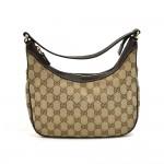 Gucci Beige GG Original Canvas Thin Hobo Bag