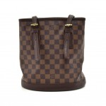 Louis Vuitton Marais Ebene Damier Canvas Shoulder Bag