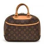 Louis Vuitton Trouville Monogram Canvas Handbag