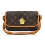 Louis Vuitton Tikal PM Monogram Canvas Pochette Handbag