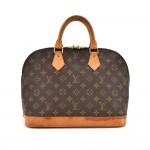 Vintage Louis Vuitton Alma Monogram Canvas Handbag