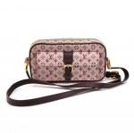 Louis Vuitton Juliette Cerise Mini Lin Monogram Canvas Shoulder Pochette Bag