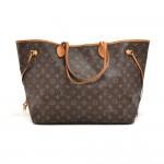 Louis Vuitton Neverfull GM Monogram Canvas Shoulder Tote Bag