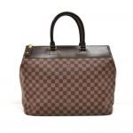 Louis Vuitton Greenwich PM Damier Ebene Canvas Large Handbag