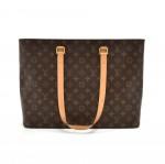 Louis Vuitton Luco Monogram Cavas Large Tote Shoulder Bag