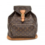 Louis Vuitton Montsouris GM Monogram Canvas Backpack