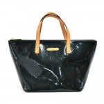 Louis Vuitton Bellevue PM Dark Green Vernis Leather Handbag