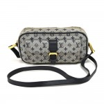 Louis Vuitton Juliette Navy Monogram Mini Lin Canvas Shoulder Bag