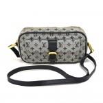 Louis Vuitton Juliette Navy Monogram Mini Lin Canvas Shoulder Bag