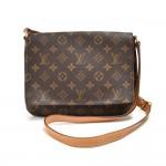 Louis Vuitton Musette Tango Monogram Canvas Crossbody Bag