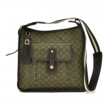 Louis Vuitton Besace Mary Kate Khaki Monogram Mini Lin Crossbody Bag