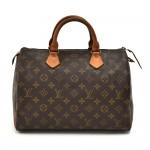 Vintage Louis Vuitton Speedy 30 Monogram Canvas City Handbag-1980s