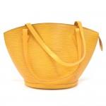 Vintage Louis Vuitton Saint Jacques GM Yellow Epi Leather Shoulder Bag