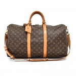 Vintage Louis Vuitton Keepall 50 Bandouliere Monogram Canvas Travel Bag