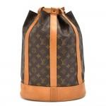 Vintage Louis Vuitton Randonee PM Monogram Canvas Shoulder Bag