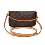 Vintage Louis Vuitton Pochette Accessoires Monogram Canvas Handbag +Strap