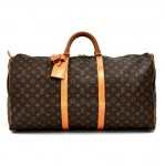 Vintage Louis Vuitton Keepall 60 Monogram Canvas Duffle Travel Bag-1980s