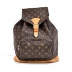 Vintage Louis Vuitton Montsouris GM Monogram Canvas Backpack Bag