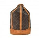 Louis Vuitton Randonnee GM Monogram Canvas Shoulder Bag
