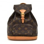 Vintage Louis Vuitton Mini Montsouris Monogram Canvas Backpack Bag