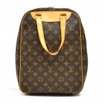 Vintage Louis Vuitton Excursion Monogram Canvas Travel Handbag
