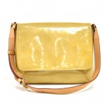 Vintage Louis Vuitton Thompson Street Yellow Vernis Leather Shoulder Bag