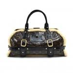 Louis Vuitton Storm Monogram Shearling Handbag -2007 Limited Edition