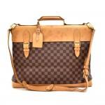 Vintage Louis Vuitton Centenaire West End Ebene Damier Canvas Travel Bag-100 Year Anniversary Ed