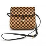 Louis Vuitton Gazelle Damier Sauvage Calf Hair Mini Crossbody Bag - 2000 Limited
