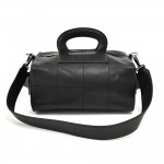 Chanel Black Square Quilted Calfskin Leather 2 Way Box Bag