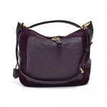 Louis Vuitton Audacieuse MM Aube Purple Monogram Empreinte Leather & Suede Hobo Bag