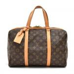 Vintage Louis Vuitton Sac Souple 35 Monogram Canvas Travel Bag