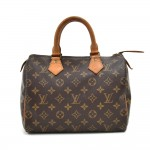 Vintage Louis Vuitton Speedy 25 Monogram Canvas City Handbag-1980s