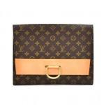 Vintage Louis Vuitton Pochette Iena Monogram Canvas Clutch Bag-1980s