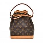 Louis Vuitton Mini Noe Monogram Canvas Handbag