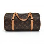 Louis Vuitton Papillon 26 Brown Monogram Canvas Handbag