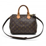 Vintage Louis Vuitton Speedy 25 Monogram Canvas City Handbag + Strap