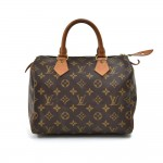 Vintage Louis Vuitton Speedy 25 Monogram Canvas City Handbag
