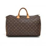 Louis Vuitton Speedy 40 Monogram Canvas Handbag
