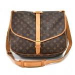 Louis Vuitton Saumur 35 Monogram Canvas Messenger Bag