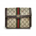 Vintage Gucci Parfums GG Supreme Coated Canvas Clutch Bag
