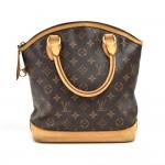Louis Vuitton Lockit Monogram Canvas Handbag