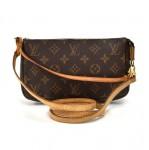 Louis Vuitton Pochette Accessoires Monogram Canvas Handbag + Strap